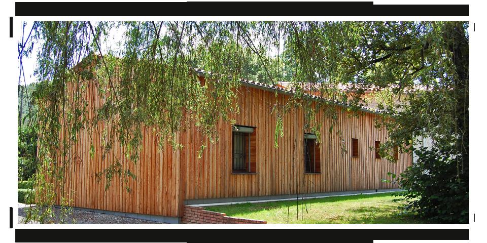 Bardage - Bois de Mélèze